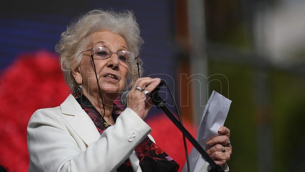 DÍA DE LA MEMORIA  Estela de Carlotto, a 45 años del golpe: