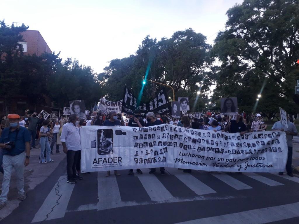 La Multisectorial marchó por el Día de la Memoria en Paraná