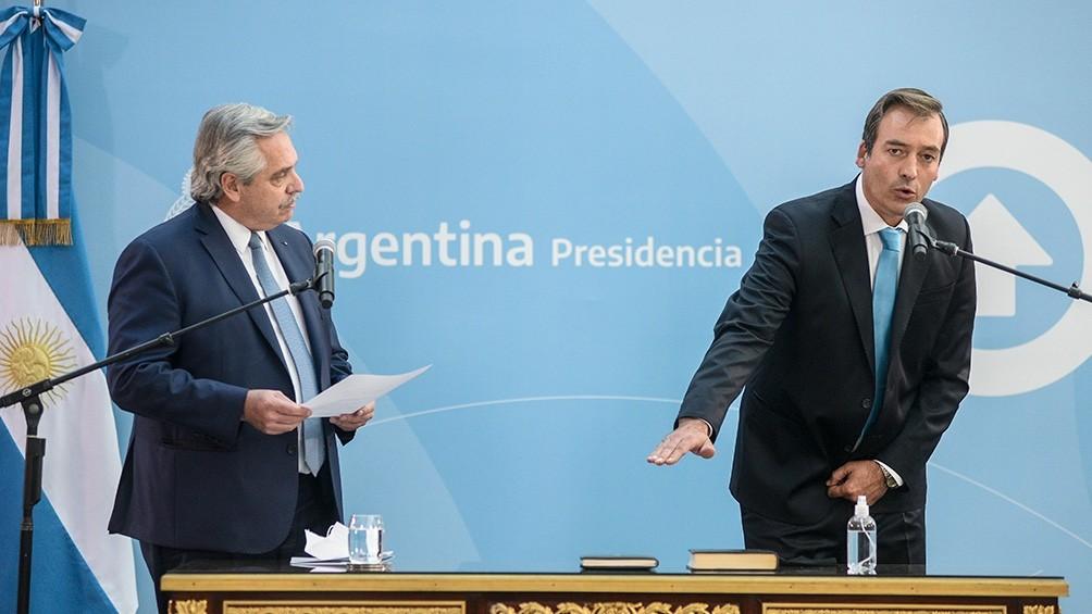 Soria juró como nuevo ministro de Justicia en reemplazo de Marcela Losardo