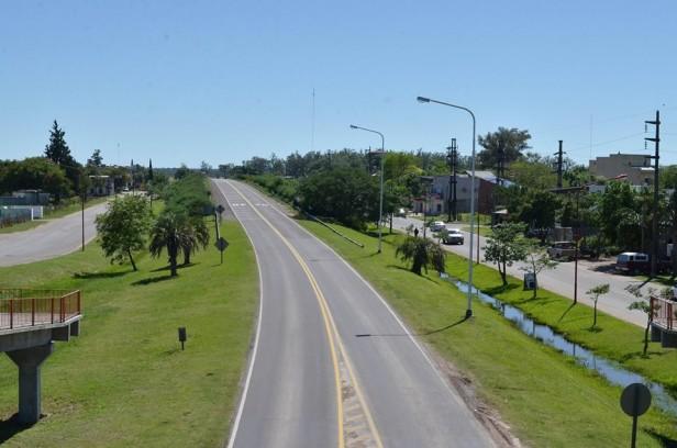 Vialidad Nacional realiza tareas de mantenimiento en las rutas 12, 127 y 136