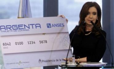 El Gobierno amplió el monto máximo de crédito de la tarjeta Argenta hasta 30 mil pesos