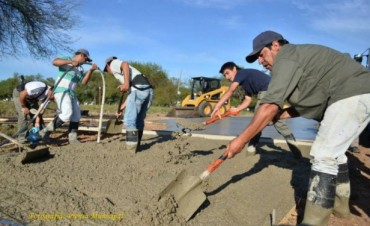Continúan las tareas en la ciudad y en la zona rural