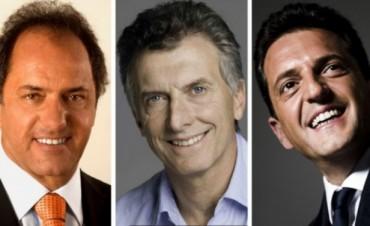 Elecciones 2015: Scioli supera a Macri y Massa no para de bajar