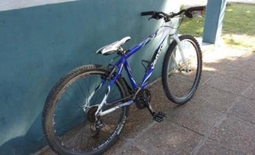 Le robaron la bicicleta al Intendente de Bernardi Boxler, pero logró ser recuperada