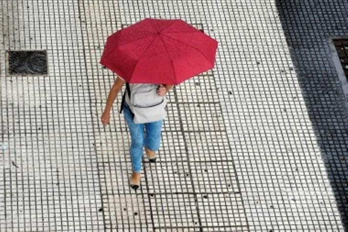 Según el Servicio Meteorológico Nacional, la lluvia continuaría hasta el miércoles