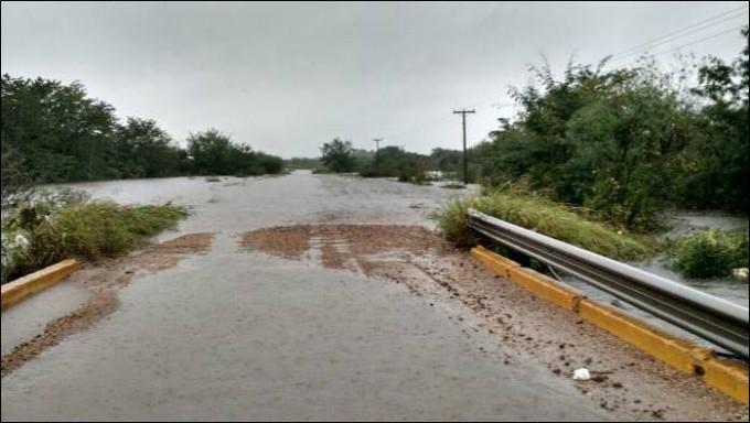 Las cuantiosas lluvias provocaron serios daños en puentes, alcantarillas y los caminos del Departamento