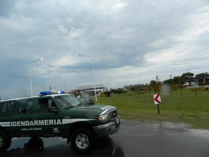 Continúan las medidas de prevención vial en la zona de rotondas de la ruta 127