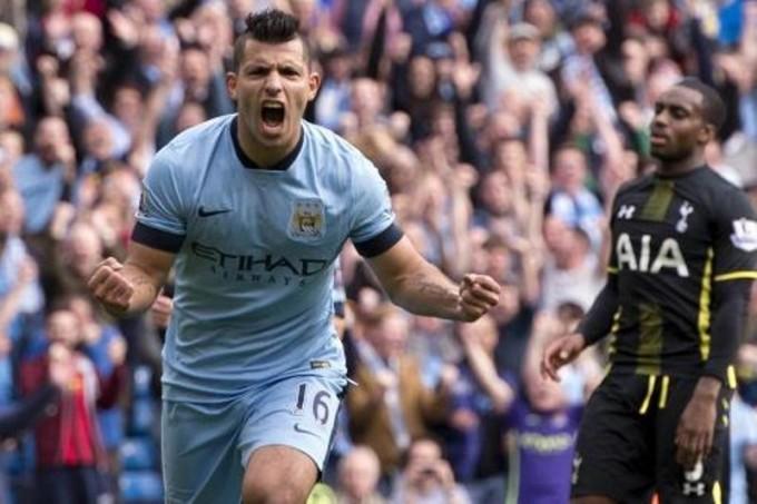 Agüero, el dueño de la pelota en Stamford Bridge