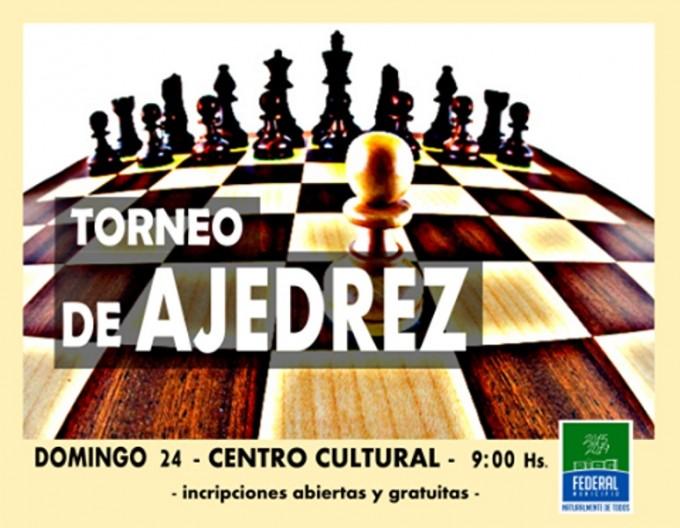 El Municipio y Derechos Humanos de la provincia promueven un torneo de ajedrez