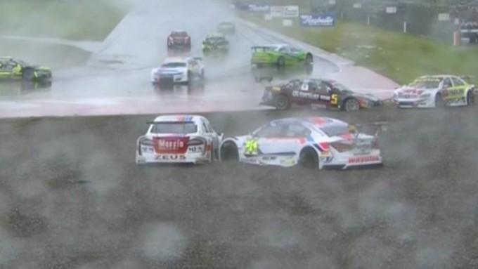 Bajo la lluvia, Franco Girolami ganó el TRV6 en Termas