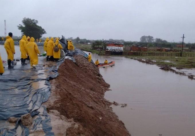Más precipitaciones complicarán la situación en la región