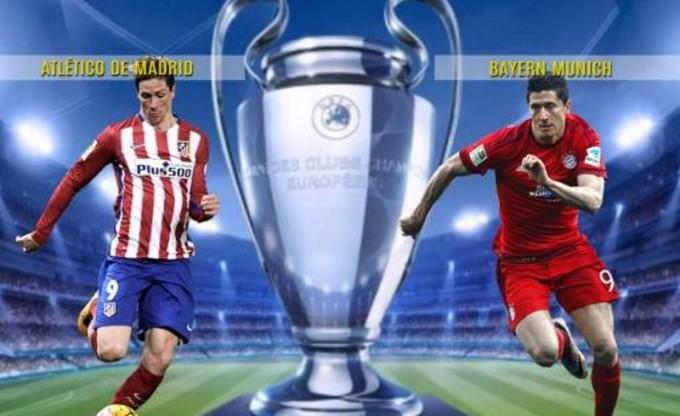 El Atlético de Madrid recibe al Bayern Munich por la Liga de Campeones