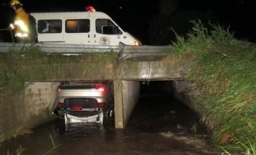 Un auto oficial despistó anoche y falleció la directora del Iprodi, Flavia Mena, una asesora y el chofer