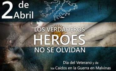 Hoy se conmemora el Día del Veterano y de los Caídos en la Guerra de Malvinas