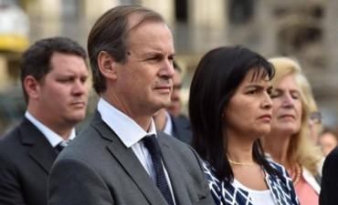 Bordet dio su primer mensaje como presidente del PJ Entre Ríos