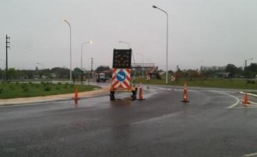 El cruce urbano de la 127 se realiza por las colectoras