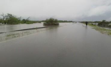 La Ruta N 22 esta cortada a la altura de los puentes sobre el Gualeguay