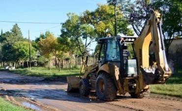 Se refuerzan los trabajos de limpieza y apertura de cunetas en todos los barrios