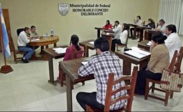 Sesionó el Concejo Deliberante: Eximieron del pago de tasas municipales a las propiedades que tiene en Federal el Obispado de Concordia