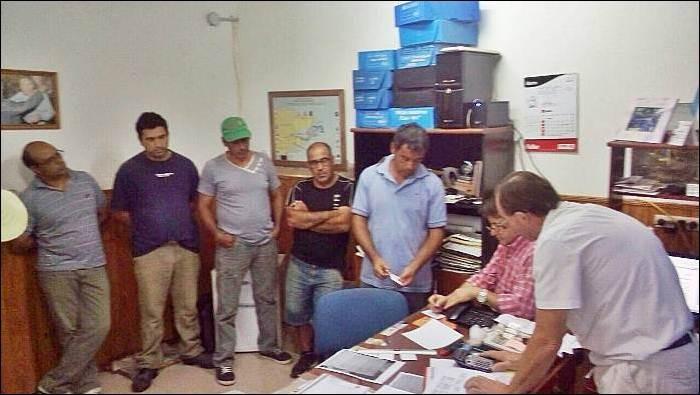 CONSCRIPTO BERNARDI: Trabajan para dar continuidad a la obra de construcción de 30 viviendas