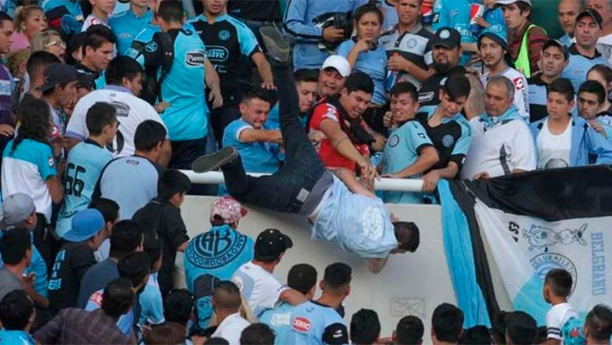 Falleció Emanuel, el joven arrojado desde la tribuna en Belgrano-Talleres