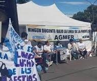 El Frente Sindical Docente demandó respuestas al gobierno provincial antes del 2 de mayo