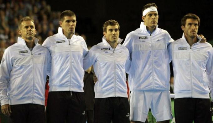Argentina, ante Kazajstán para volver a la élite de la Davis