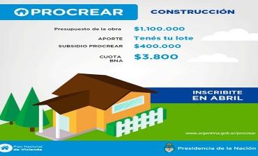 Más de 5.000 inscriptos para el ProCreAr Línea Construcción