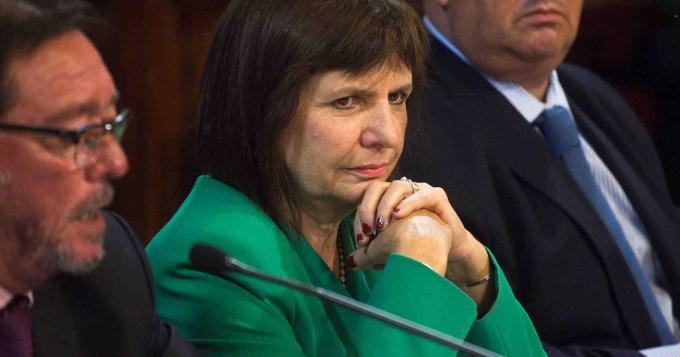 Bullrich respaldó la limitación de excarcelaciones