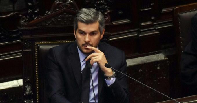 Marcos Peña, ahora al Senado