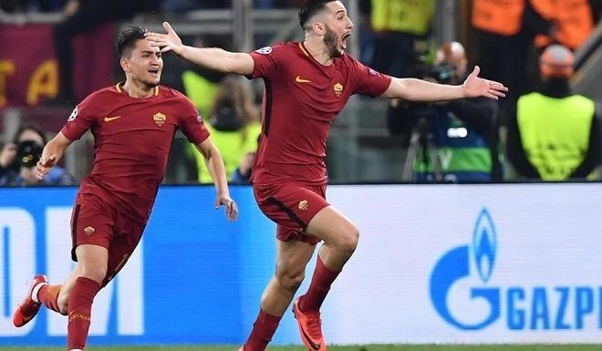 La Roma humilló al Barcelona