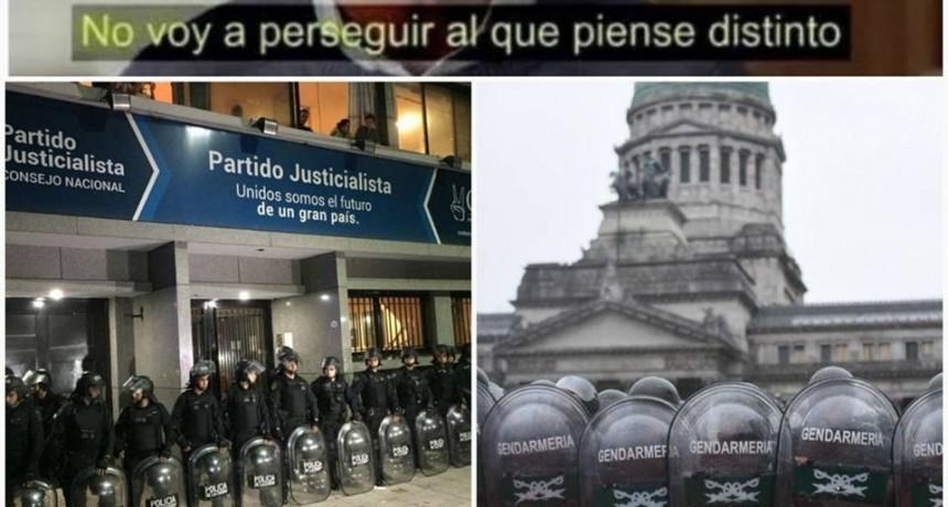 El Justicialismo de Federal repudia la intervención del P.J. Nacional