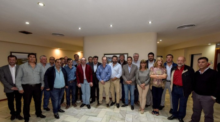 Se realizó un nuevo encuentro de la Liga de Intendentes Justicialistas