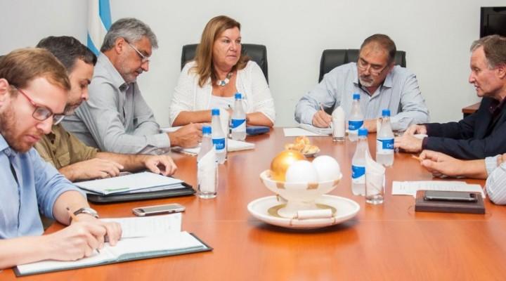 Repasan proyectos y obras en ejecución en el departamento La Paz - RUTA PROVINCIAL N°6