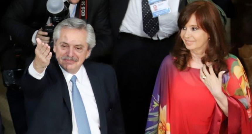 Cristina Kirchner terminó su cuarentena y visitó a Alberto Fernández en Olivos