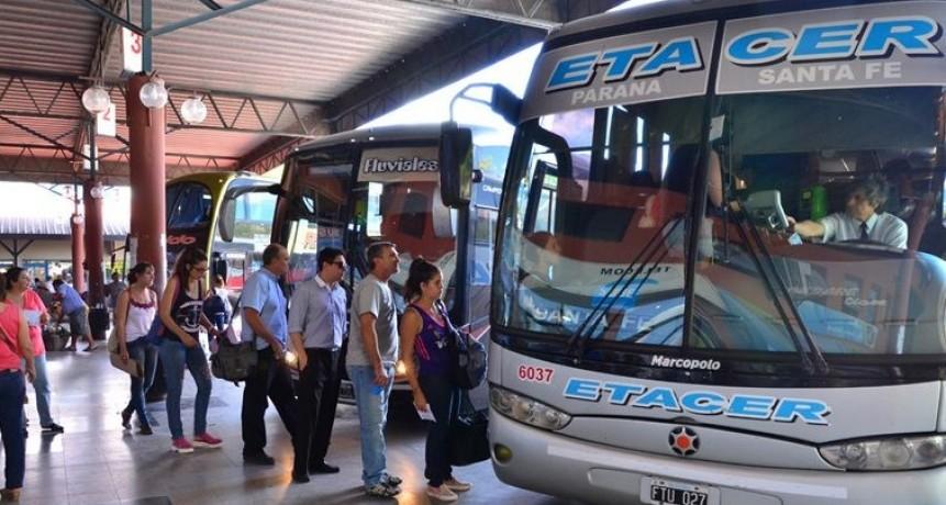 Se prorrogó la suspensión total del servicio de transporte interurbano en la provincia