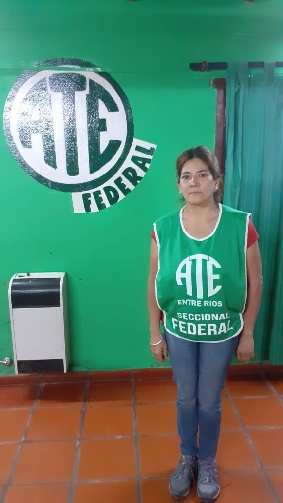 Ate logró la reincorporación de Norma Graciela Gómez en Federal