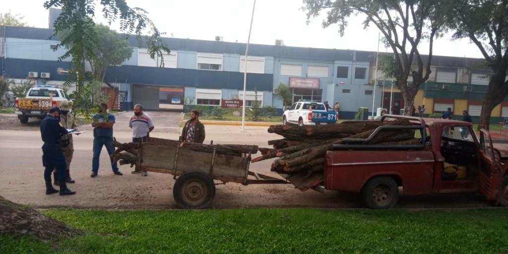 PROCEDIMIENTO POR LEY DE MONTES NATIVOS POR LA POLICIA