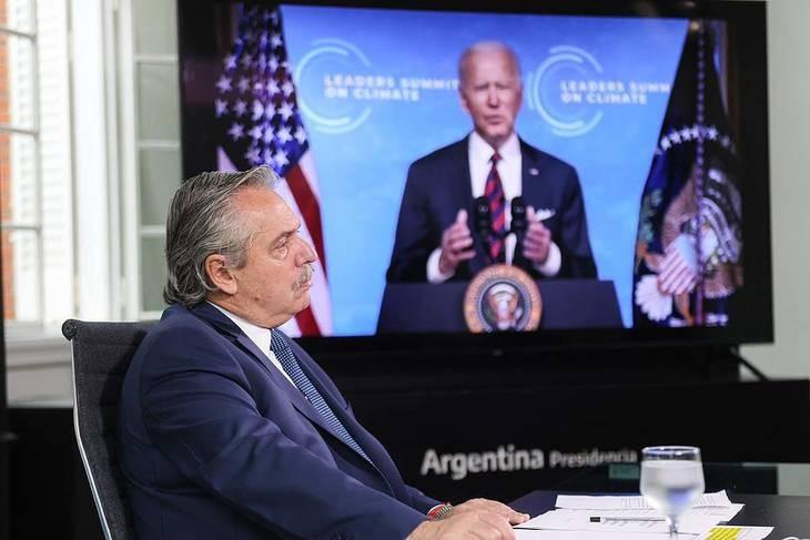 Fernández en la Cumbre por el Cambio Climático: