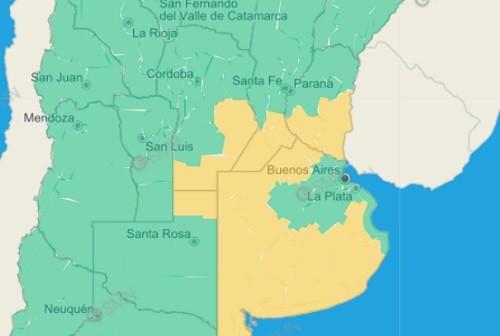 Alerta por tormentas fuertes para siete departamentos entrerrianos