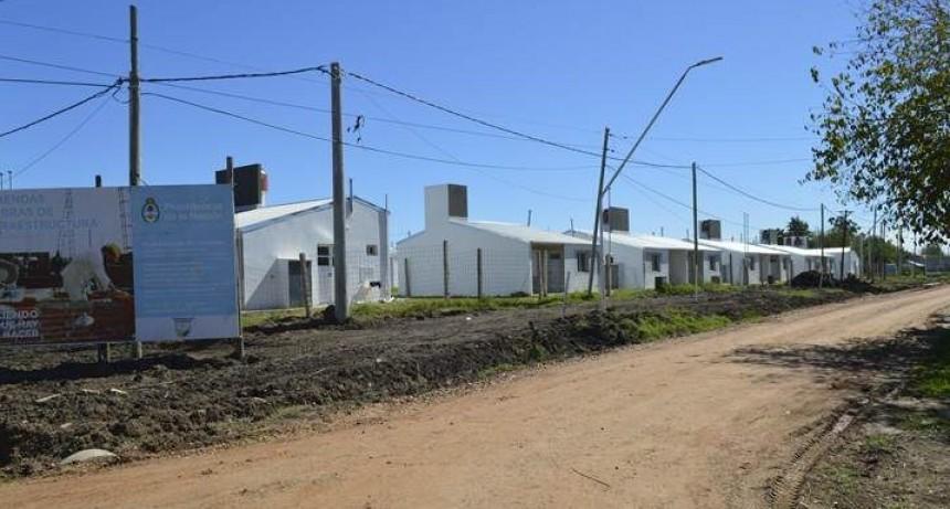 La entrega de las 44 viviendas de emergencia hídrica del barrio 25 de mayo se hará el miércoles 21