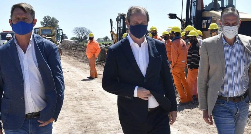 Bordet se interiorizó de la marcha de las obras en rutas nacionales y define prioridades