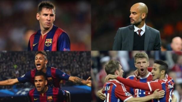 El Barcelona de Messi y el Bayern Münich de Guardiola animarán un duelo con muchos condimentos