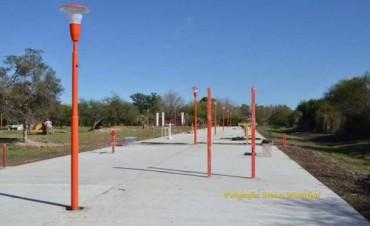 El Municipio avanza con la nueva sede de Atletismo y con el gimnasio a cielo abierto