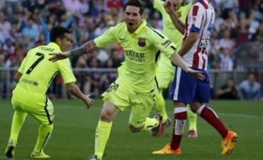 Barcelona se consagró campeón de la Liga española con otra actuación estelar de Messi