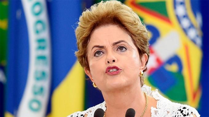 Dilma Rousseff tras su suspensión: