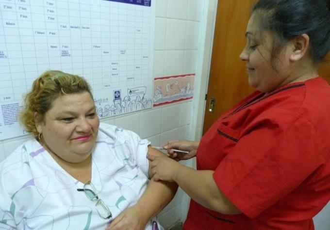 En la provincia ya fueron vacunadas contra la gripe unas 55.000 personas