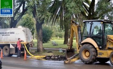 El Municipio prioriza tareas de higiene, mantenimiento y embellecimiento urbanistica
