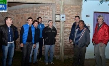 El Municipio inauguró el nueva sistema lumínico de calle Buenos Aires