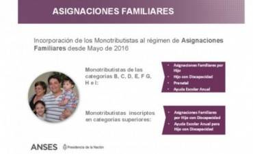 Más de 230.000 hijos de monotributistas se anotaron para recibir la asignación